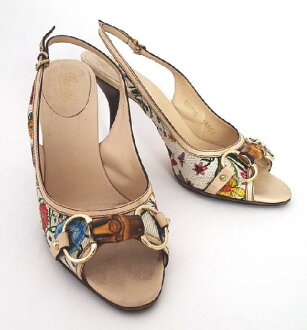 Brandeal Rakuten Ichiba Shop  Price Gucci bamboo flora Mule Sandals 36  half-floral Womens GUCCI shoes  c3a107130