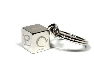 미사용 카르티에키링데코르다이스 T1220156 큐브 키홀더 Cartier 큐브 로고