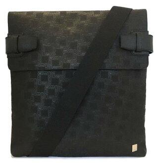 Take Dunhill shoulder bag D eight black messenger black men rubber DUNHILL slant as well as a new article; shoulder messenger bag dunhill