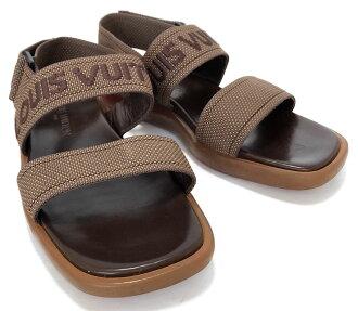 840c54b372d7 ... logo LOUIS VUITTON Vuitton LV Louis Vuitton Louis Vuitton Louis Vuitton  with strap for the Louis Vuitton sandals beach sandal   6 brown men  gentleman
