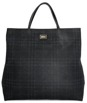 8d31741b0b73 Brandeal Rakuten Ichiba Shop  Burberry tote bag check Thoth black navy  rubber black dark blue Lady s men BURBERRY man and woman combined use