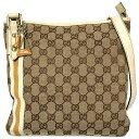 48929f597aba Take Gucci shoulder bag GG canvas 144388 slant, and take boots charm bag  charm slant; shoulder Lady's GG pattern GUCCI