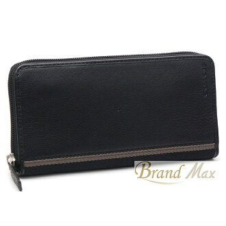 Coaches / large zip around wallet /F74378 / calf / grey