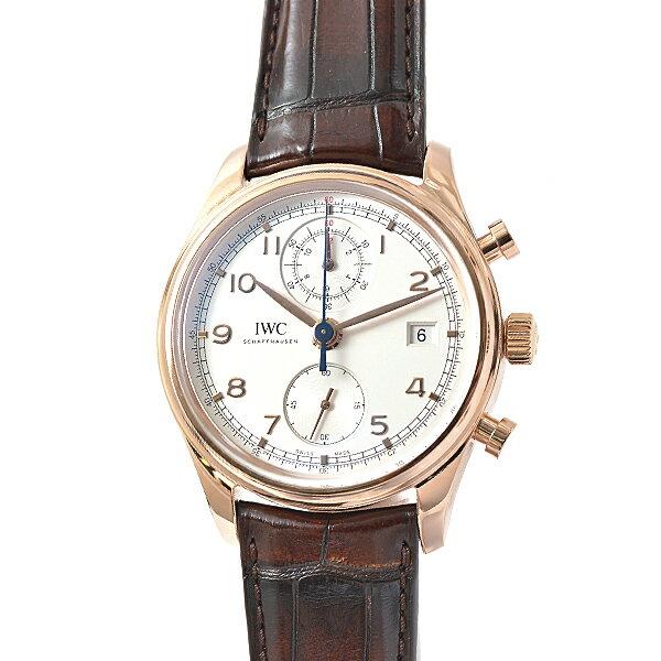アイダブリューシー IWC ポルトギーゼクロノグラフクラシック IW390402 メンズ腕時計【中古】