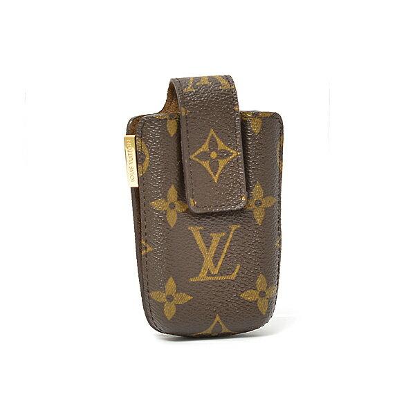 ルイヴィトン Louis Vuitton モノグラム エテュイ テレフォン インターナショナルPM 携帯ケース【中古】