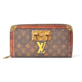 4f25ce421d09 ルイヴィトン Louis Vuitton トランクタイム ジッピー・ウォレット モノグラム メンズ M52746【中古】
