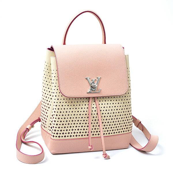 ルイヴィトン Louis Vuitton リュック レディース ロックミーバックパック ピンク M54577【中古】
