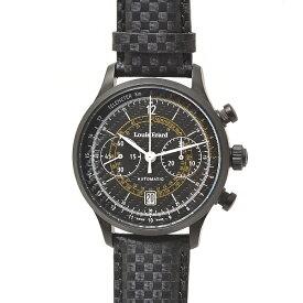 ルイエラール メンズ 腕時計 1931 リミテッドエディション ブラック 200本限定 ブラック Louis Erard【中古】