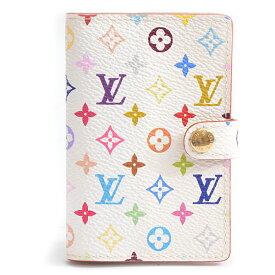 ルイヴィトン Louis Vuitton アジェンダミニ カルネドゥバル 手帳カバー ミニアドレス マルチカラー ブロン M92653【中古】