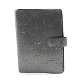 ルイヴィトン Louis Vuitton モノグラムマット アジェンダMM ノワール メンズ レディース R20922【中古】