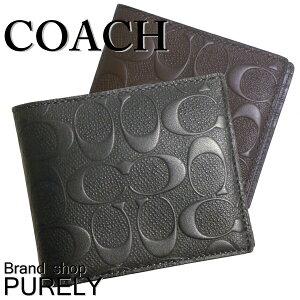 つ折り 財布 ふた coach コーチ COACH