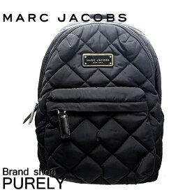 【28時間限定ポイント5倍】マークジェイコブス MARC JACOBS バック リュック・デイパック レディース アウトレット ナイロン キルティング A4対応 M0011321 BLACK ブラック マークジェイコブス MARC JACOBS レディース WWW