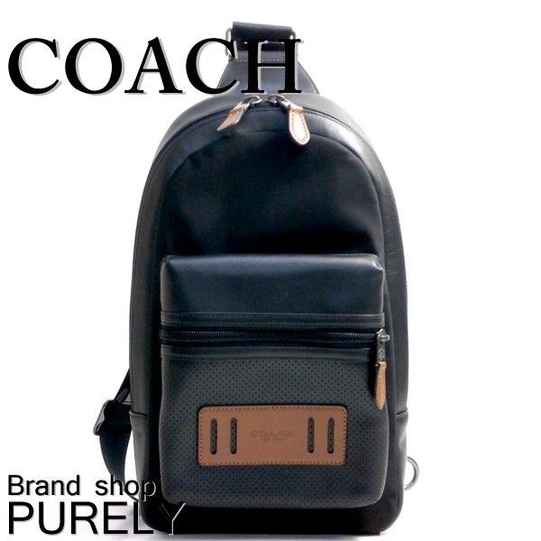 【エントリーでさらにポイント5倍!】コーチ COACH バッグ リュック・デイパック メンズ アウトレット レザー F56877 FD7 ブラック×ダークサドル コーチ COACH メンズ MMM