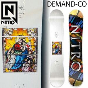 21-22 NITRO/ナイトロ DEMABD LTD CAM-OUT デマンド メンズ レディース スノーボード パーク 板 2022 予約商品