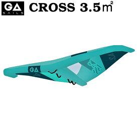 GA SAIL ジーエイセール CROSS 3.5平米 クロス GA WING ウイングサーフィン GAASTRA ガストラ FOIL WING 2021