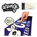 ORANGE / オレンジ デッキパッド Gripl deck mat`Logo Seat` 滑り止め スノーボード パット 板 メール便対応