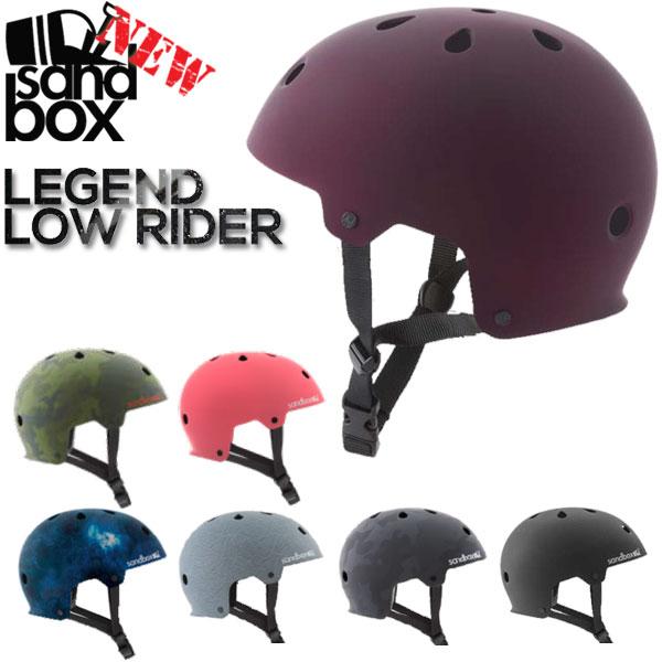 あす楽対応 SANDBOX/サンドボックスヘルメット LEGEND LOW RIDER レジェンド ローライダー ウェイク スノーボード スケート スキー メンズ レディース キッズ プロテクター 17-18 18-19