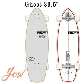 YOW/ヤウ SKATE GHOST ゴースト PYZEL 33.5inc サーフスケート ロングスケートボード ロングボード スケボー オフトレ