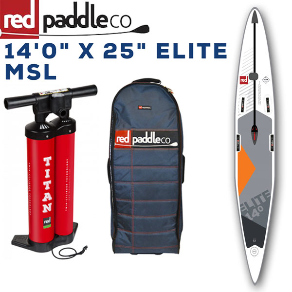 "RED PADDLE 14'0""×25 ELITE RACE / レッドパドル レース SUP インフレータブル パドルボード サップ 取り寄せ商品"