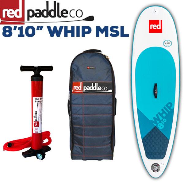 パドルボード RED PADDLE SURF WHIP 8'10/レッドパドル ウィップ サップ SUP インフレータブル