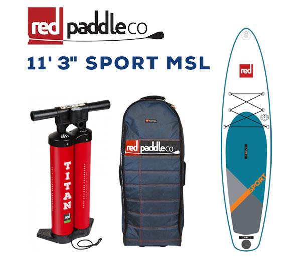 """RED PADDLE 11'3""""×32 SPORT TOURING / レッドパドル スポーツ SUP インフレータブル パドルボード サップ"""