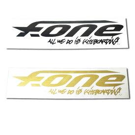 F-ONE エフワン ステッカー パドルボード カイトボード 小 メール便 290円
