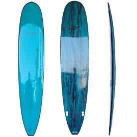 サーフボード ラハイナ LAHAINA 9'0 L15 ロングボード 青 グリーンマーブル 営業所止め 送料無料