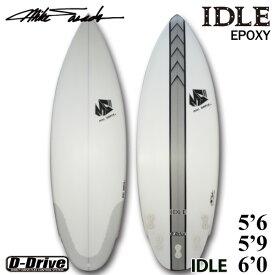 サーフボード マイクシェイプス / MIKE SHAPES IDLE 5'6 5'9 6'0 ショートボード ミニボード 営業所止め 送料無料