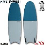 サーフボードマイクシェイプス/MIKESHAPESMSThe70sセブンティーズムーンテール5'85'11クラシックツインフィン