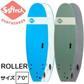 """2020 SOFTECH ROLLER 7'0"""" ソフテック サーフボード ショートボード ソフトボード 子供用 大人用 サーフィン"""
