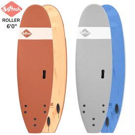"""2020 SOFTECH ROLLER 6'0"""" ソフテック サーフボード ショートボード ソフトボード 子供用 大人用 サーフィン"""