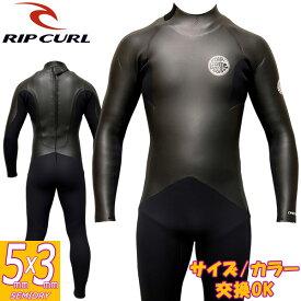 18-19 RIP CURL / リップカール バリューBACK ZIP / バックジップ セミドライ 5×3 V30-630 ウェットスーツ サーフィン フルスーツ
