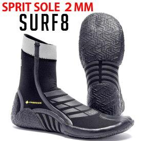 即出荷 サーフブーツ SURF8 サーフエイト 2.0MM スプリットコンペWBR サーフィン 冬用 遠赤起毛 88F1R6