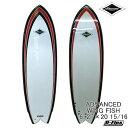 サーフボード ショート アドバンス / ADVANCED WING FISH 6'2 サーフィン