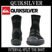 QUIKSILVER/クイックシルバーINTERNALSPLITTOEBOOT3mmサーフブーツサーフィン防寒対策