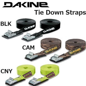 即出荷 DAKINE Tie Down Straps / ダカイン タイダウンストラップ 12' Black サーフィン、ウインドサーフィン/キャリアベルト AJ237-973