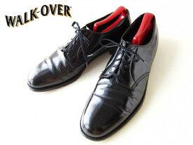【Walk Over】USA製/ウォークオーバー/プレーントゥシューズ/黒【28.5cm】メンズ/靴/大きいサイズ/ビンテージ/D140 【中古】【カジュアル】