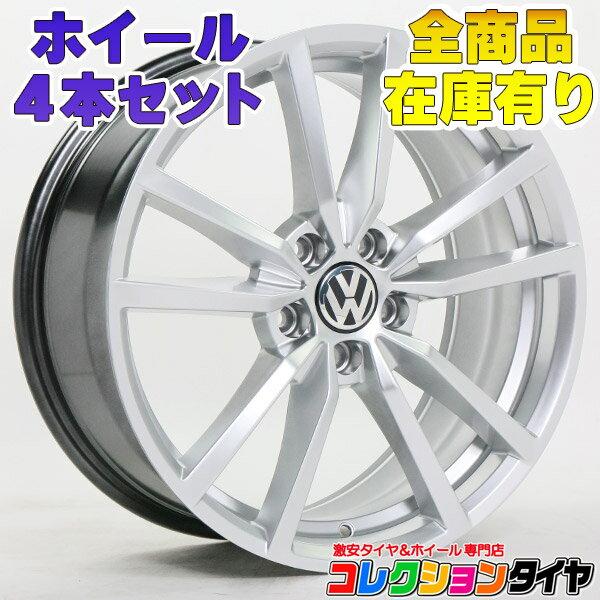 ホイール4本セット フォルクスワーゲン VW ゴルフ5 ゴルフ6 ゴルフ7 パサート ザ・ビートル 3C 16C 18インチ BK864 新品