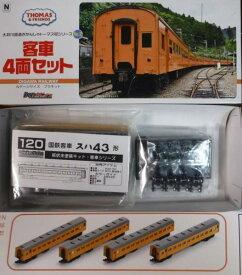 客車4両セット(きかんしゃトーマス号)大井川鉄道 ホピダス【新品】送料込み価格