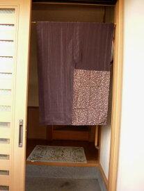 【手作り小物】着物用反物で作った暖簾(ハーフ丈)
