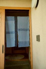【手作り小物】シルクの暖簾(ミドル丈)