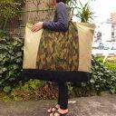 【布団バッグ】【入園準備】【特大サイズ】大好評!迷彩柄特大手作りお昼寝布団バッグ