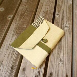【ブックカバー】単行本用和柄パッチワークブックカバー【手作り小物】