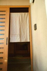 【手作り小物】【水文】で作った暖簾(ミドル丈)