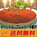 クリスマスケーキ 誕生日ケーキ 送料無料 生チョコレアチーズケーキ【ローソク・Xmas...