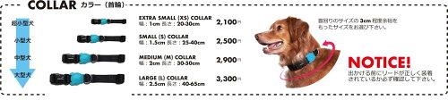 犬首輪カラーリードオシャレブラジル【zee.dog】COLLAR首輪XSサイズ【2017モデル】
