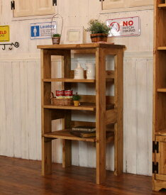 COUNTRY・シンプル・3段ラック オーダーメイド カントリー家具 選べるカラー キッチン収納 収納 収納棚 北欧パイン 北欧 無垢 木製 パイン材 おしゃれ カントリー アンティーク 西海岸 西海岸風 インテリア 小物入れ ディスプレイ