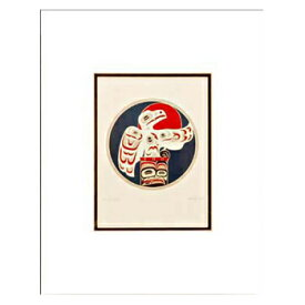 アート プリント画 ダブルマット カナダ 先住民 ネイティブ インディアン COOK [ BOX OF LIGHT ]