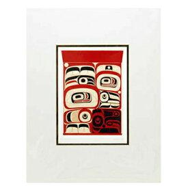 アート プリント画 ダブルマット カナダ 先住民 ネイティブ インディアン COOK [ ELEMENT WITHIN V ]