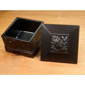 ネイティブ ギフトボックス カナダ 先住民 インディアン BOMA製 [ RAVEN SMALL SQUEA BOX ワタリガラス ] 小物入れRAVEN ワタリガラス小 黒